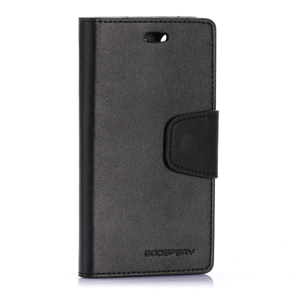 Preklopni ovitek (črn) za Sony Xperia Z3 Compact