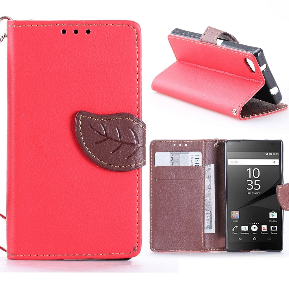 Sony Xperia Z5 Compact (red) flip tok
