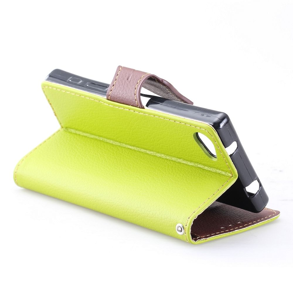 Preklopna maska (zelena) za Sony Xperia Z5 Compact
