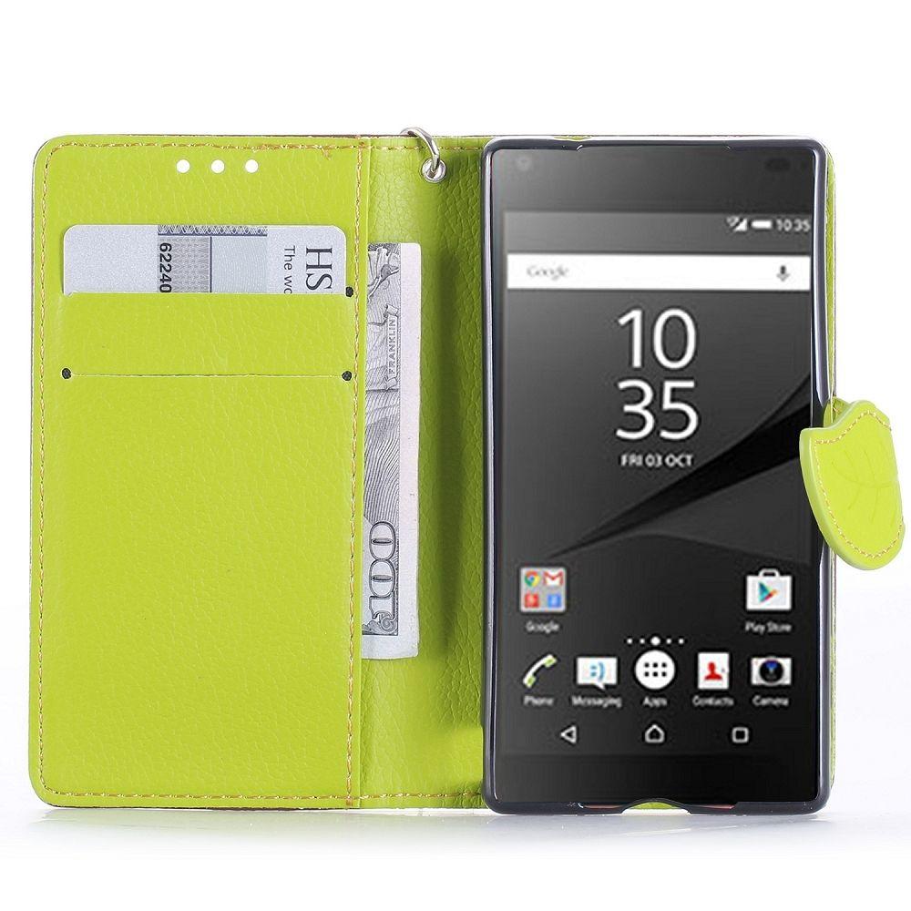 Preklopni ovitek (rjav) za Sony Xperia Z5 Compact