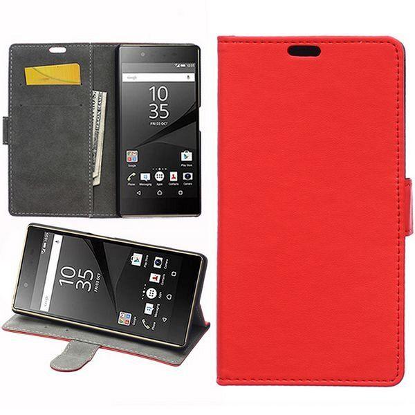 Preklopna maska (crvena) za Sony Xperia Z5