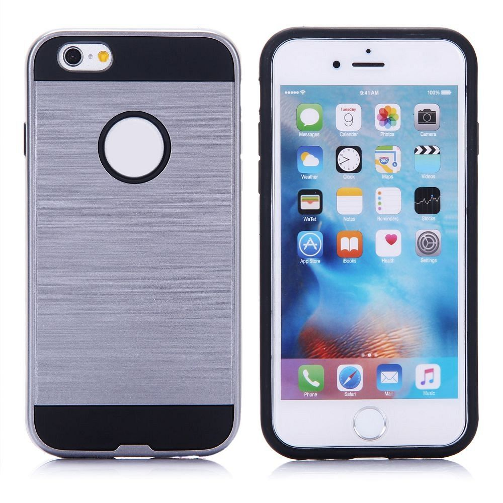 Ovitek hard cover (siv) za iPhone 6/6s