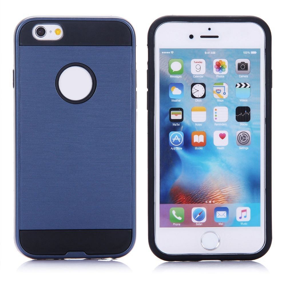Ovitek hard cover (moder) za iPhone 6/6s