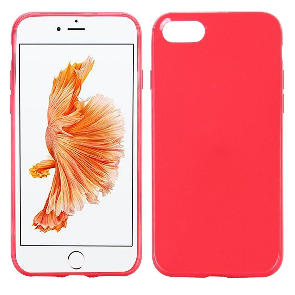 Ovitek TPU (rdeč) za Apple iPhone 8