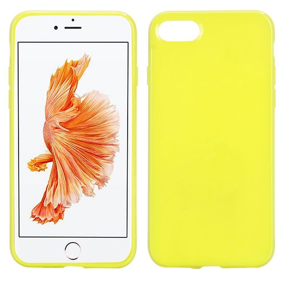 Ovitek TPU (rumen) za Apple iPhone 8