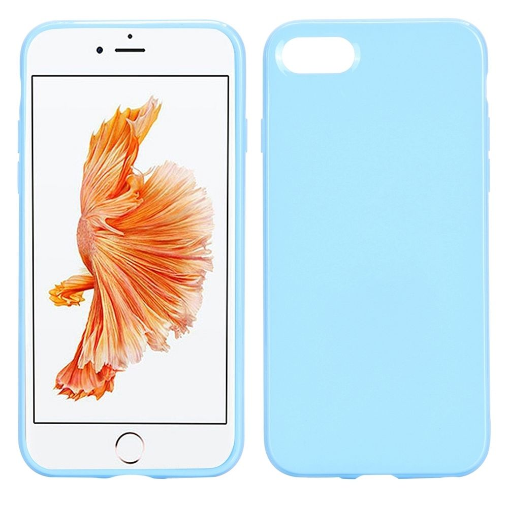 Ovitek TPU (svetlo moder) za Apple iPhone 8