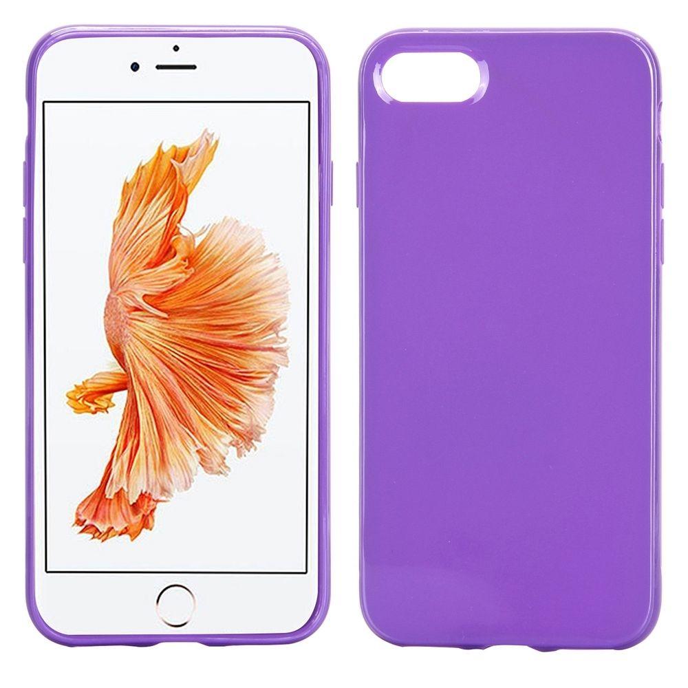 Ovitek TPU (vijoličen) za Apple iPhone 8
