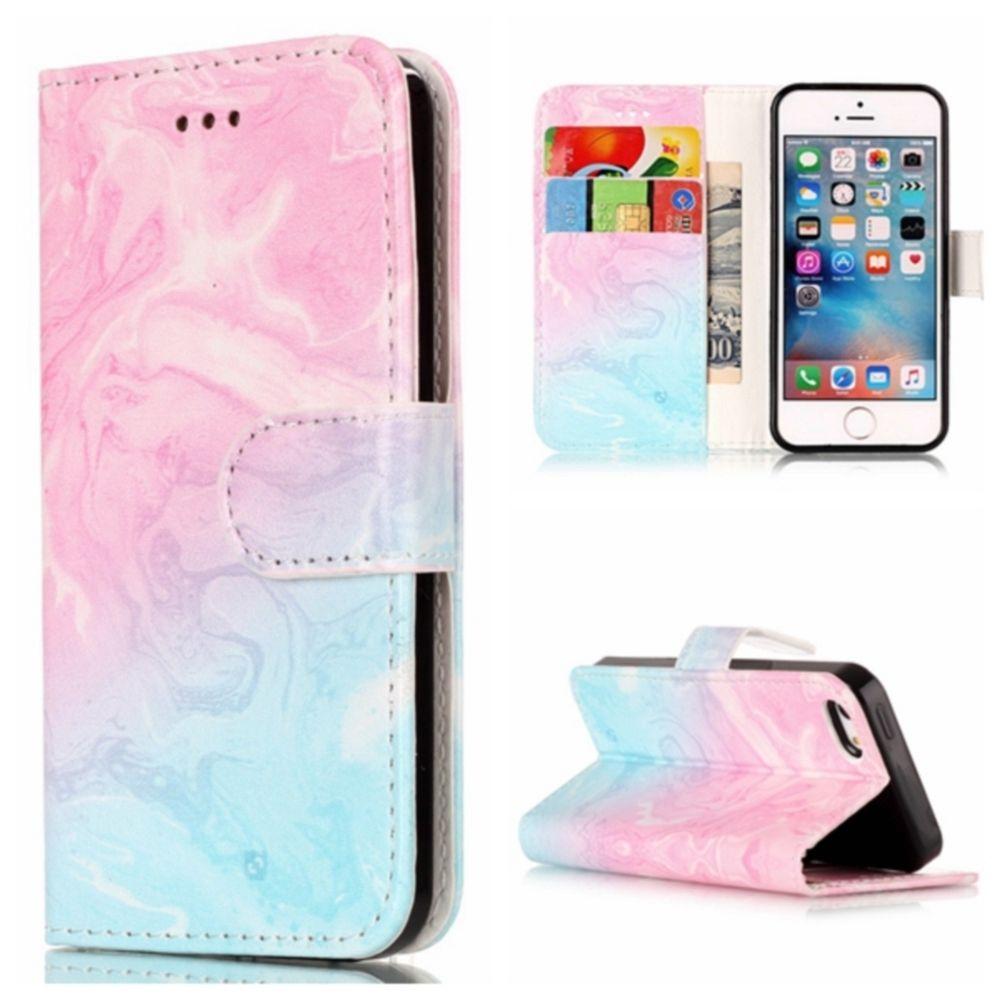 Preklopni ovitek (Pink) za iPhone 5/5S/SE