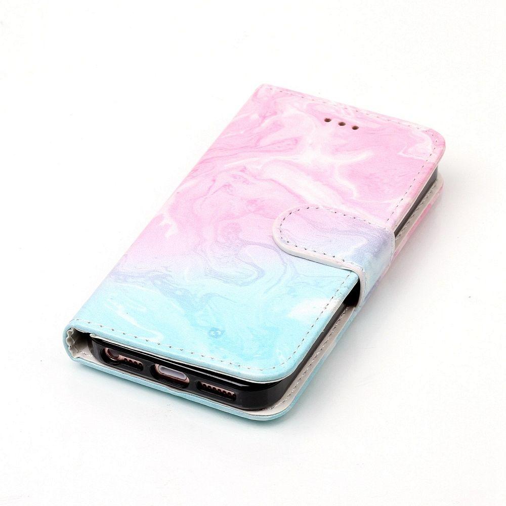 Preklopna maska (ružičasta) za iPhone 5/5S/SE