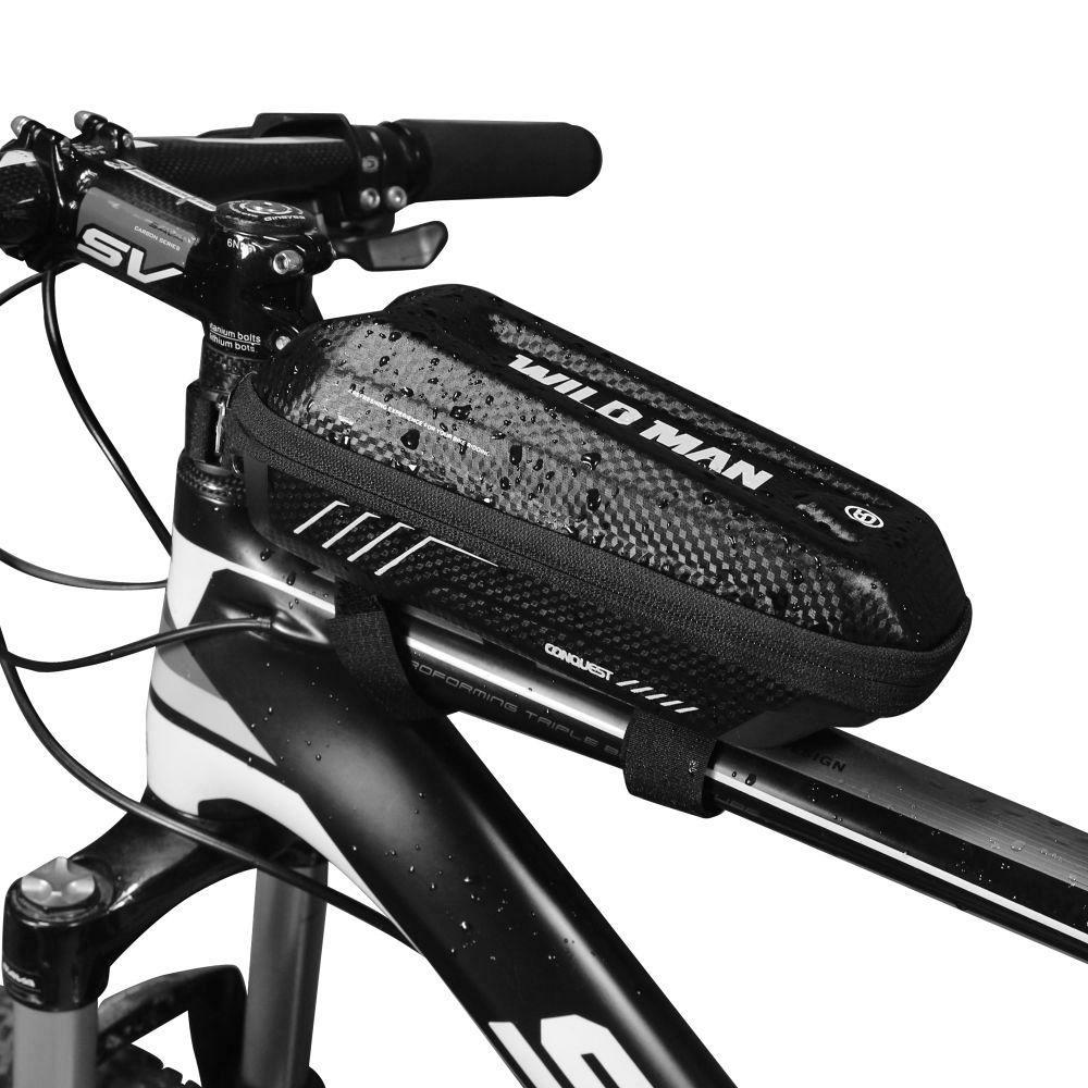 Vodootporna torba za bicikl E5S - crna