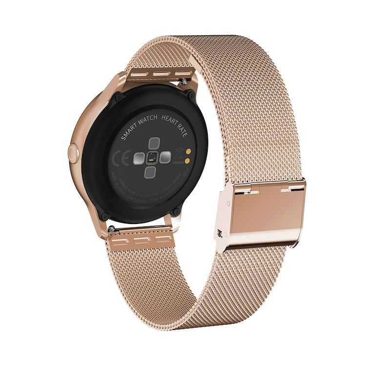 Pametna zapestnica D8 (rose gold) Full touch screen