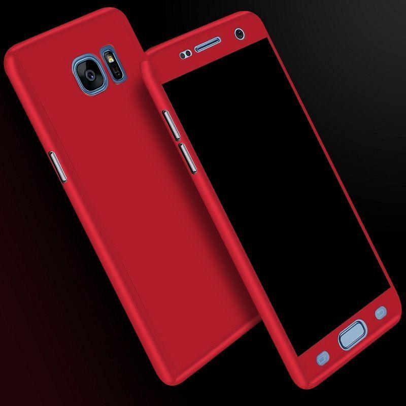 Ovitek 360° (Rdeč) za Samsung Galaxy A7 2017