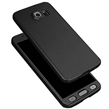Ovitek 360° (Črn) za Galaxy A7 2017