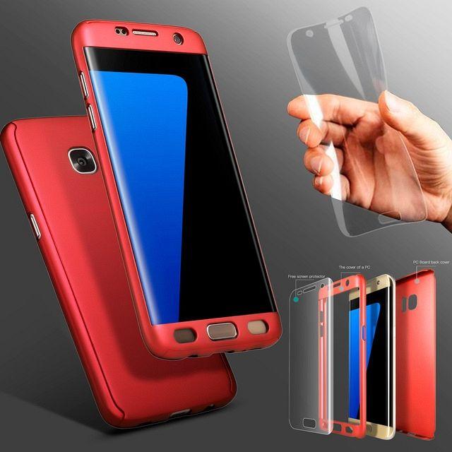 Maska 360° (crvena) za Samsung Galaxy S8 Plus
