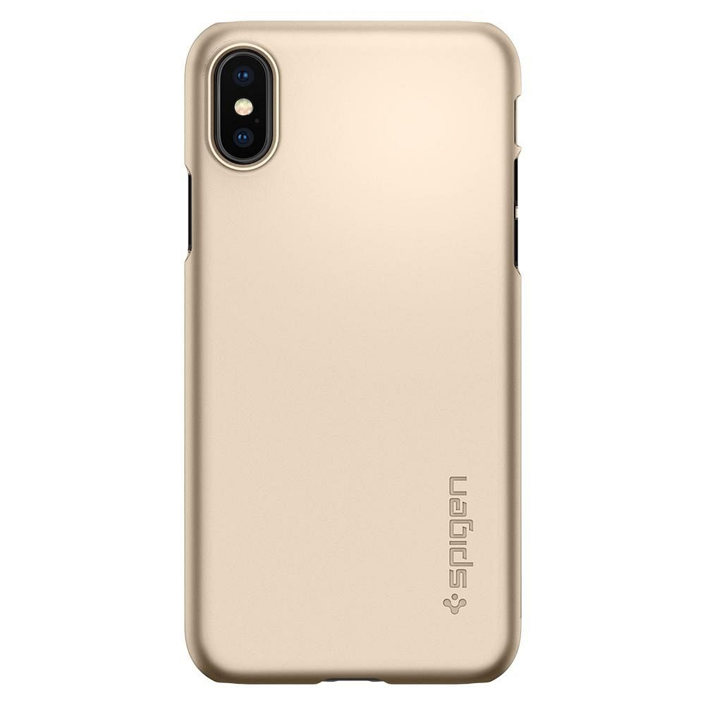 Maska Spigen Thin Fit (Gold) za Samsung iPhone X