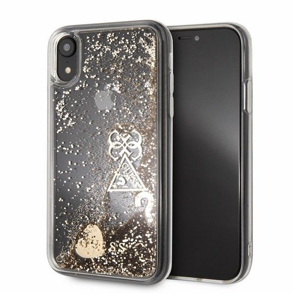 Original maska GUESS (sparkle) za iPhone Xr