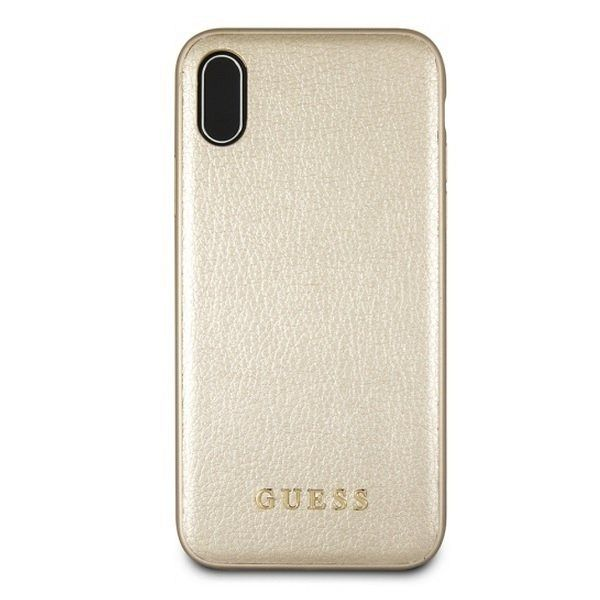 Original maska GUESS (gold) za iPhone XsMax