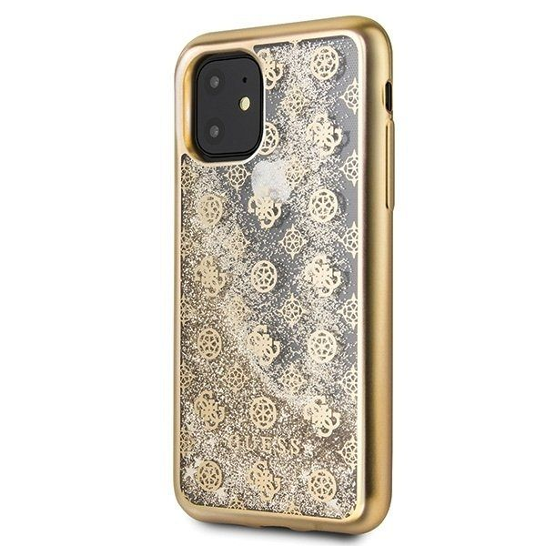 Maska GUESS (gold) za iPhone 11