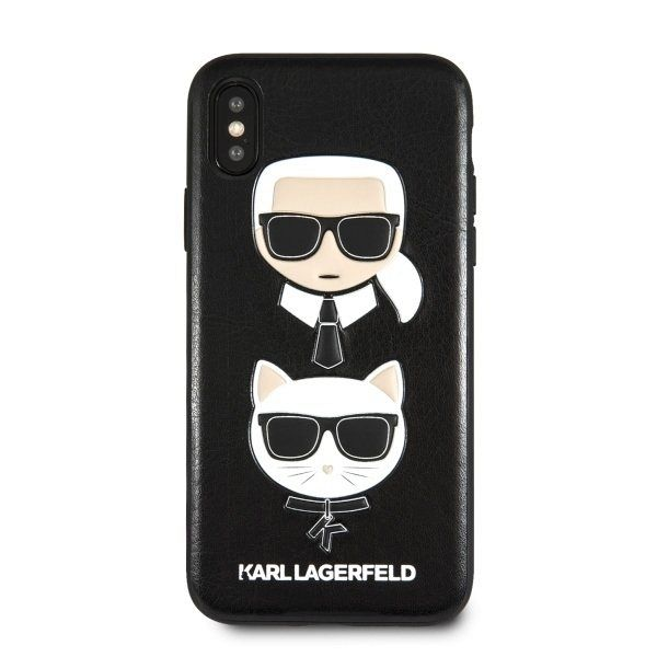 Original maska Karl Lagerfeld (black) za iPhone XsMax