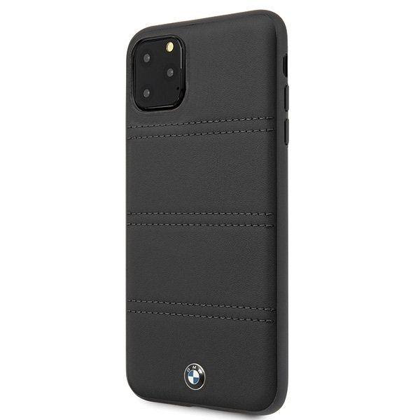 Originalna maska BMW (black) horizontal lines za iPhone 11 Pro Max