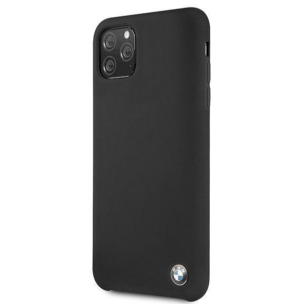 Originalna maska BMW (black) Silicone type za iPhone 11 Pro Max