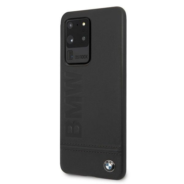 Samsung Galaxy S20 Ultra BMW (black) Signature leather tok