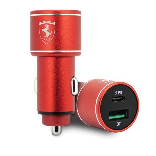 Car charger FERRARI (red)