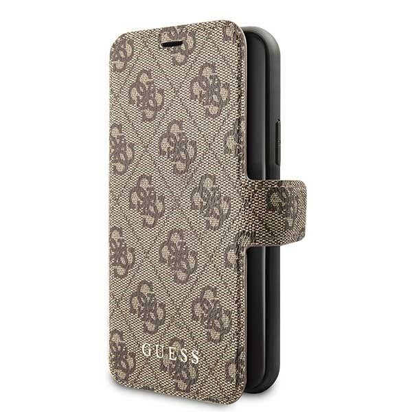 Originalna preklopna maska Guess (brown) za iPhone 11