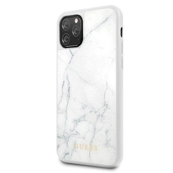 Originalen ovitek Guess (White marble) za iPhone 11 Pro