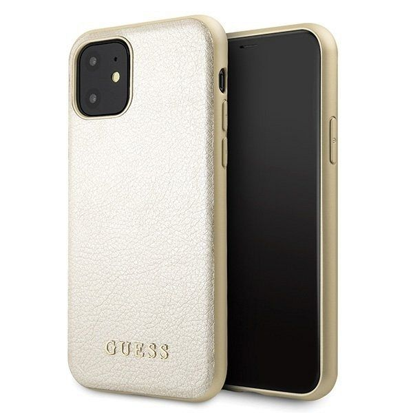 Originalna maska Guess (gold) za iPhone 11
