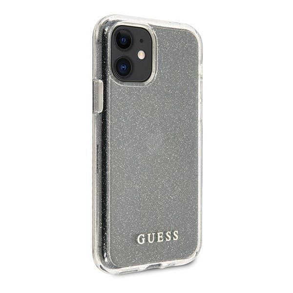 Maska GUESS (transparent sparkle) za iPhone 11