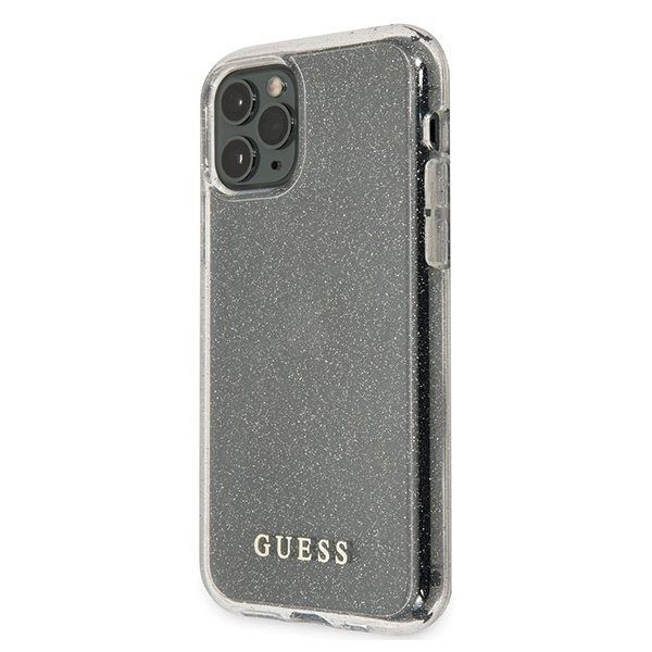 Maska GUESS (transparent sparkle) za iPhone 11 ProMax