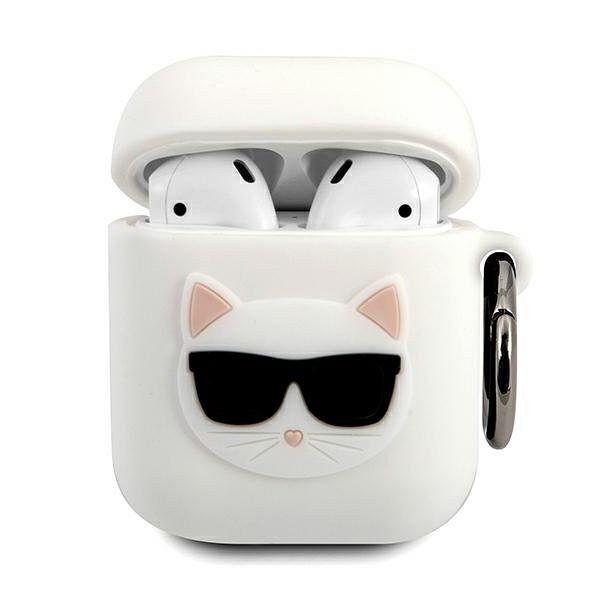 Maska KARL LAGRFELD (white Choupette) za AirPods