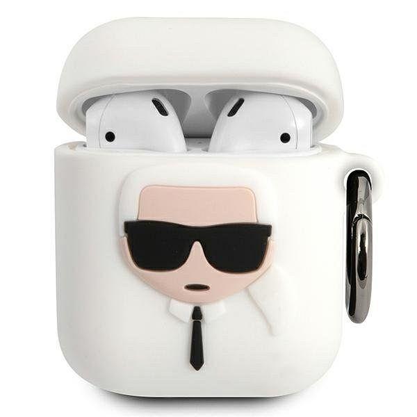Maska KARL LAGRFELD (Silicone Ikonik) za AirPods