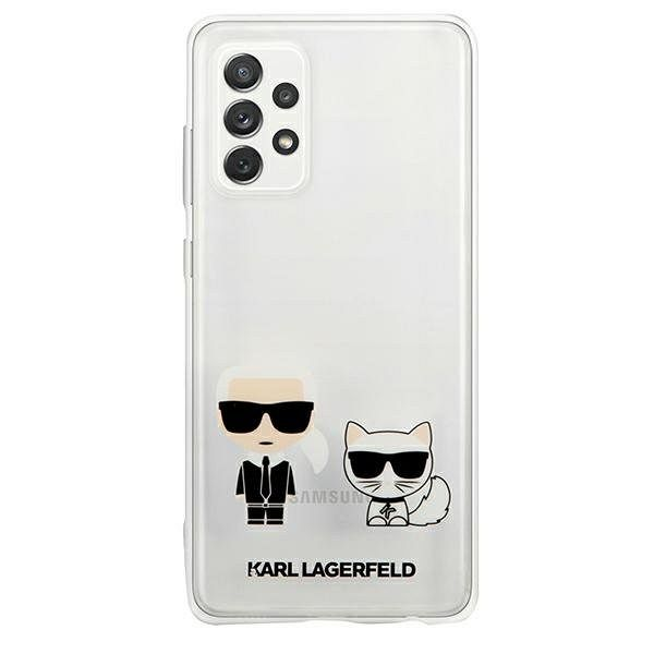 Samsung Galaxy A72 KARL LAGERFELD (transparent) Karl and Choupette tok