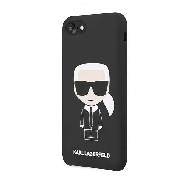 iPhone 7 / 8 / 9 / SE / SE2 KARL LAGERFELD (black) Icone KL tok