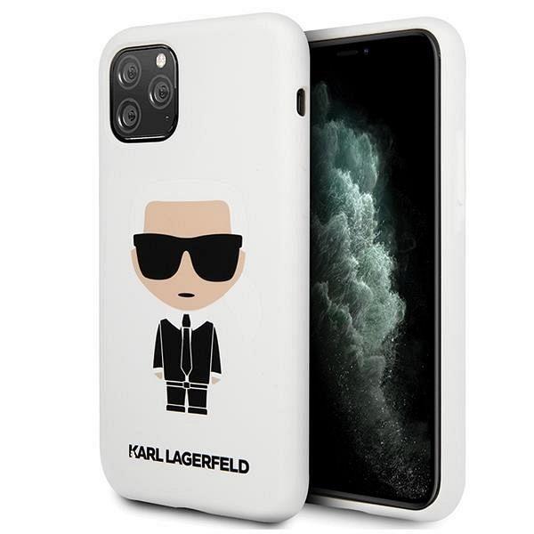 Originalna maska Karl Lagerfield (white) za iPhone 11