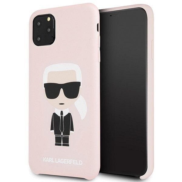 iPhone 11 Pro Max Karl Lagerfeld (pink) tok