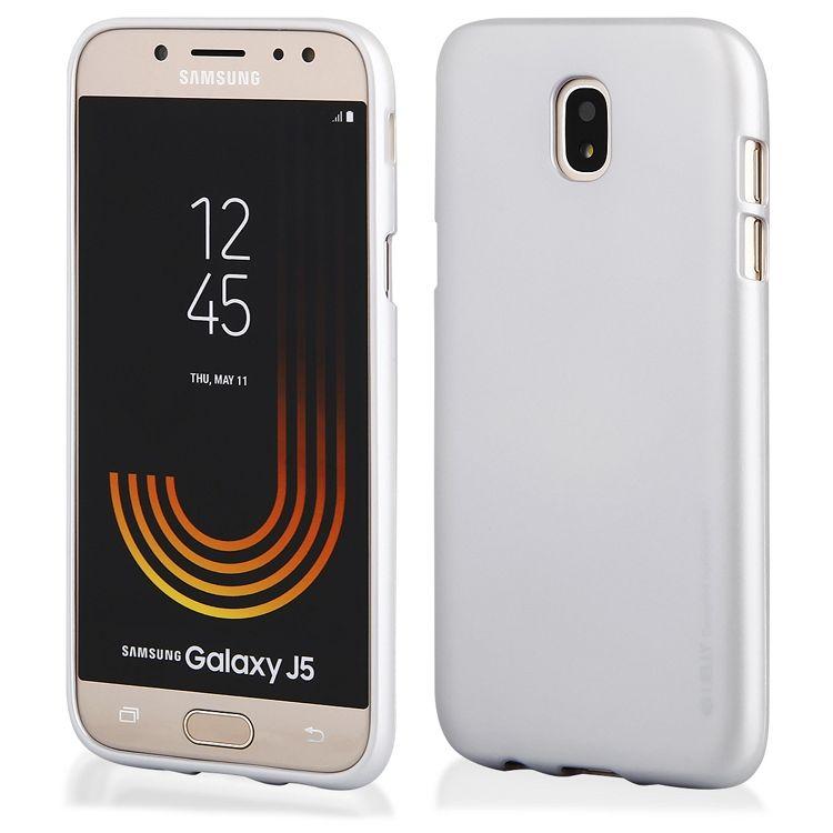 Ovitek TPU Goospery (srebrn) za Samsung Galaxy J5 2017