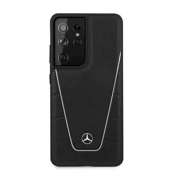 Originalna maska MERCEDES (black) Dynamic za Samsung Galaxy S21 Ultra