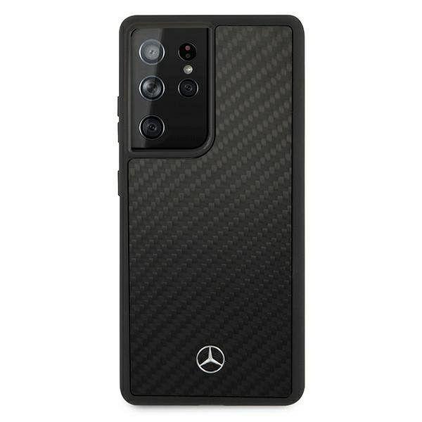Originalna maska MERCEDES (black) Dynamic Line za Samsung Galaxy S21 Ultra