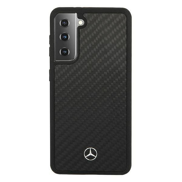 Originalna maska MERCEDES (black) Dynamic Line za Samsung Galaxy S21 Plus
