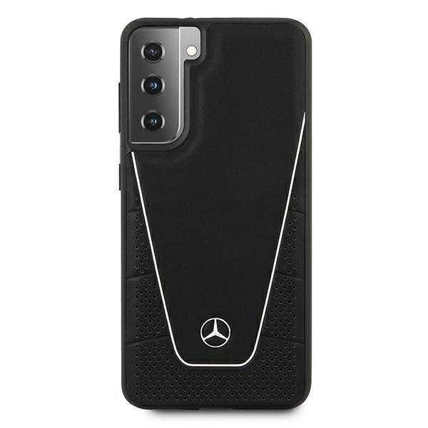 Originalna maska MERCEDES (black) Dynamic Line za Samsung Galaxy S21