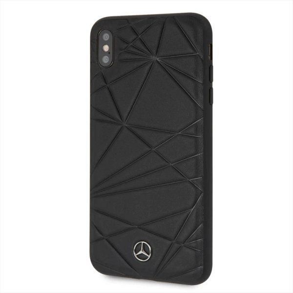 Originalna maska MERCEDES (black) Twister za iPhone X / Xs