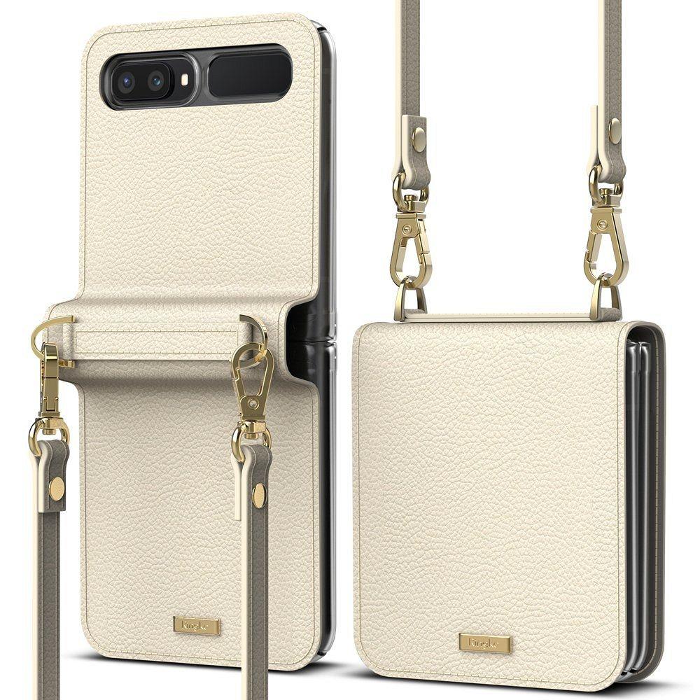 Galaxy Z Flip Ringke (beige) pénztárca