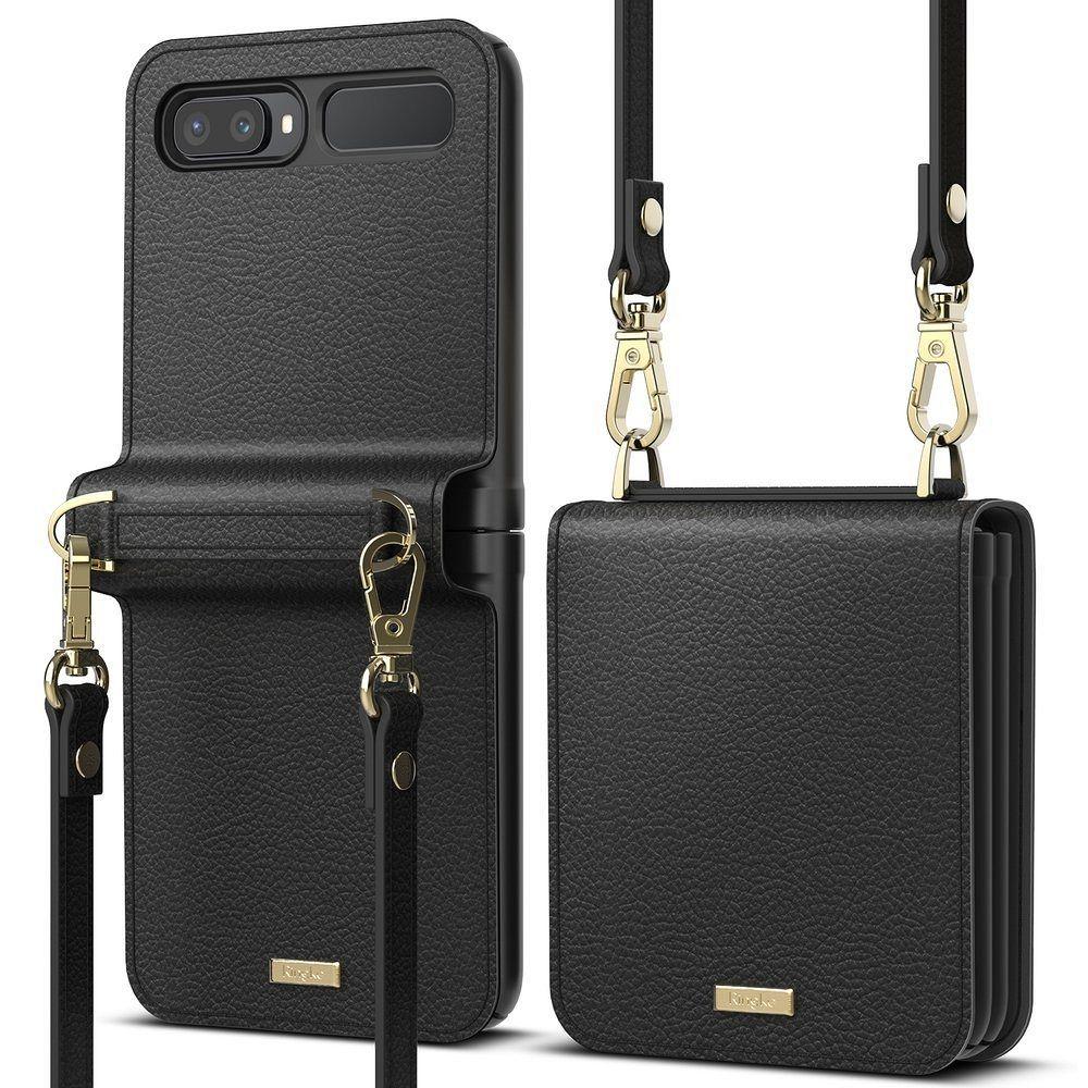Galaxy Z Flip Ringke (black) pénztárca
