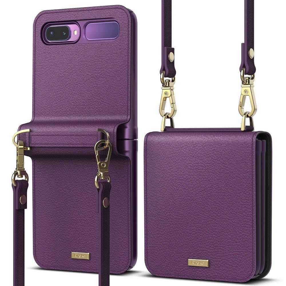 Galaxy Z Flip Ringke (violet) pénztárca