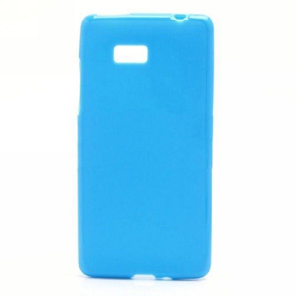 "Ovitek TPU ""Plain"" (moder) za HTC Desire 600"