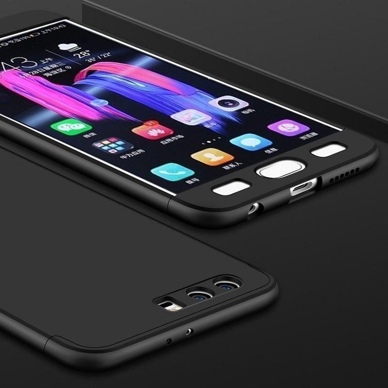 Ovitek 360° (črn) za Huawei Honor 9