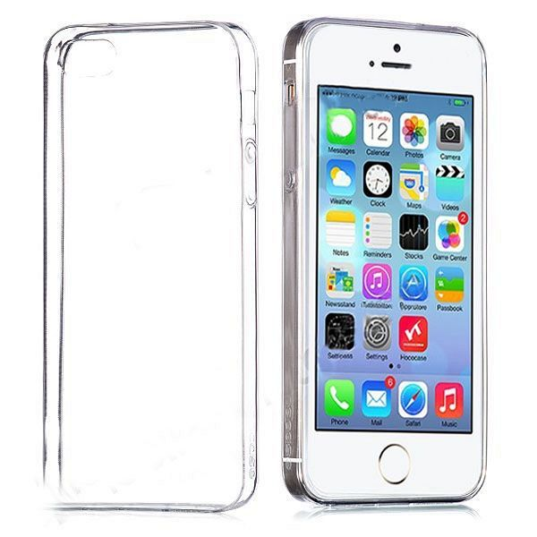 Ultra tanek TPU (prozoren) za Apple iPhone 5 / 5S / 5SE